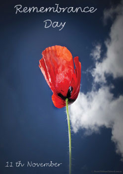 Cloud Poppy Remembrance