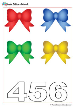 Christmas Worksheets Bows