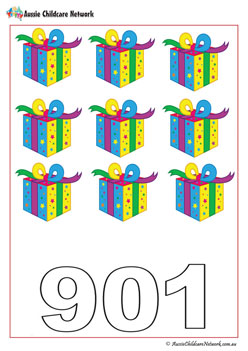 Counting Presents Worksheet