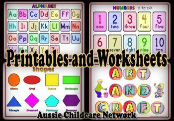 Printables - Aussie Childcare Network