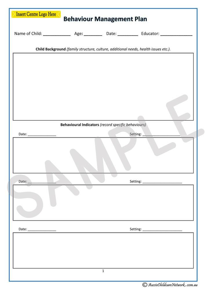 Behaviour Management strategies Essay