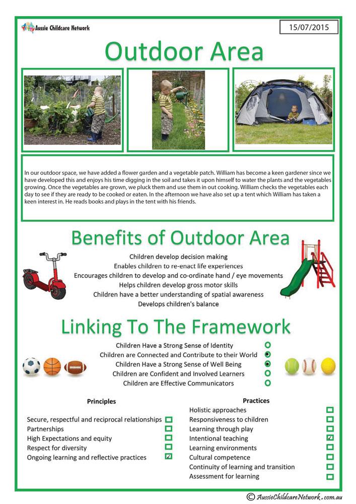 interest area - outdoor area