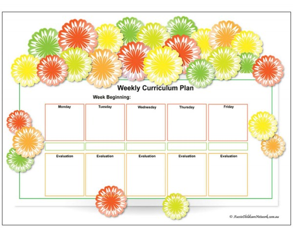 Flower Curriculum Plan