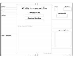 Quality Improvement Plan