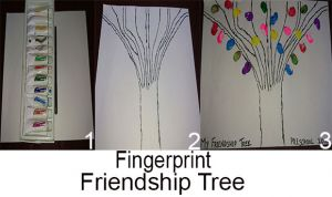 Fingerprint Friendship Tree