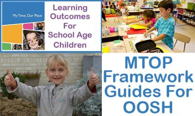 MTOP Framework For School Age Care - Reference Guide