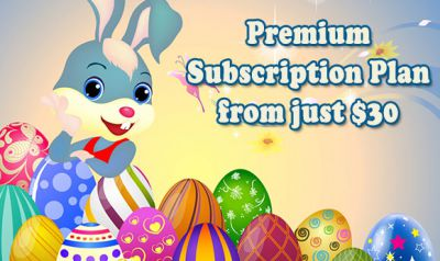 Easter Offer: Premium Subscription Plan from just $30