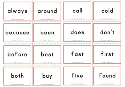 Flashcards  Aussie  Grade Sight dolch Childcare  australia Dolch printables Second   sight Words Network words