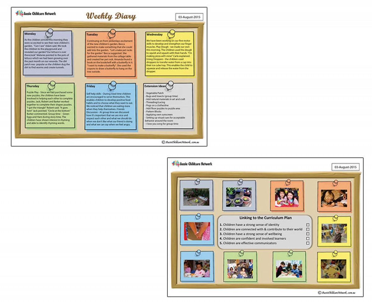 weekly journal template