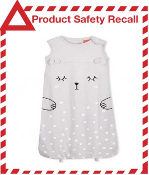 Product Safety Recall - Cotton On Kids Bundler Sleeping Bag