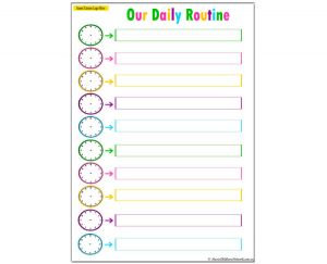 Our Daily Routine - Clocks