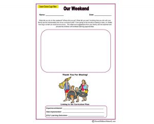 Our Weekend - Parent Input