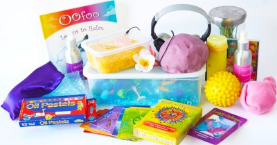 Sensory Activities For A Calm Down Box
