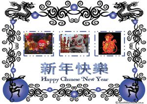 Chinese New Year Portfolio Template