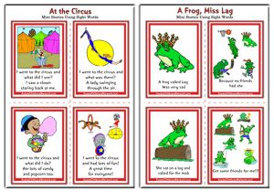 Sight Words Mini Stories