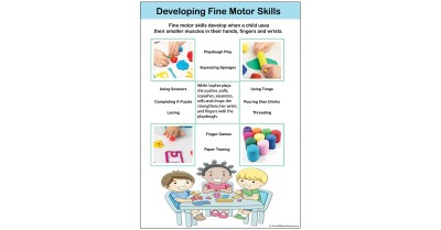 Developing Fine Motor Skills Template