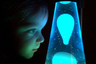 Glow In The Dark Lava Lamp