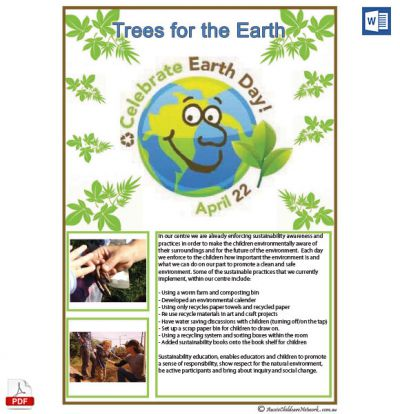 Earth Day Template