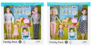 Purchase New Inclusive Same Sex Family Doll Sets For Your Service