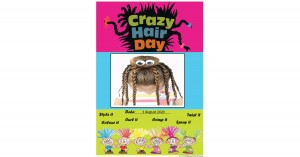 Crazy Hair Day Portfolio Template