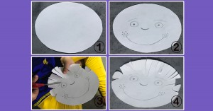 Paper Plate Haircuts