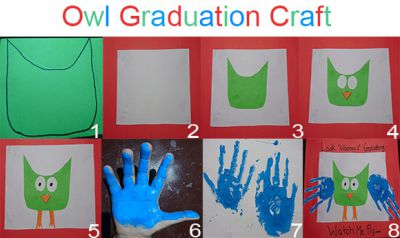 Owl Graduation Craft