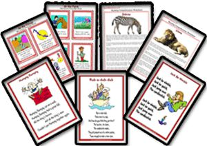 Reading Worksheets Created