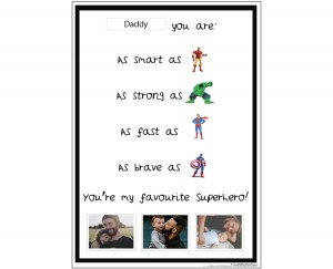 Superhero - Father's Day