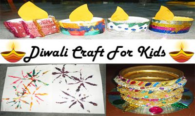 Diwali Craft For Children