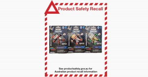 Product Safety Recall - DC Micro Pozers Series 1