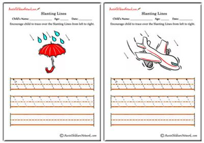 Pre Writing Worksheets - Aussie Childcare Network