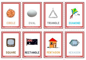 Shapes Flashcards - Objects