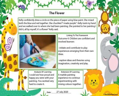 Learning Story Animals