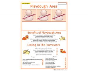 Interest Area - Playdough Play