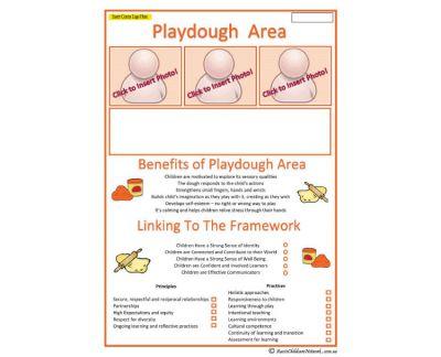 Interest Area Playdough Play Aussie Childcare Network