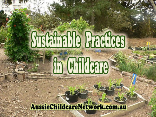 sustainability strategies in childcare
