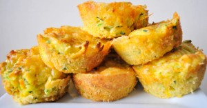 Cheese and Veggie Muffins