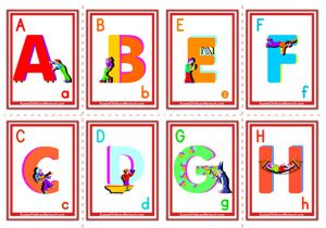 Alphabet Flashcards - Uppercase Alphabet