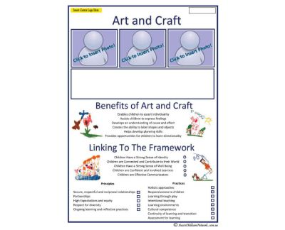Interest Area - Art and Craft