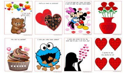 Valentines Day Cut and Paste Worksheets