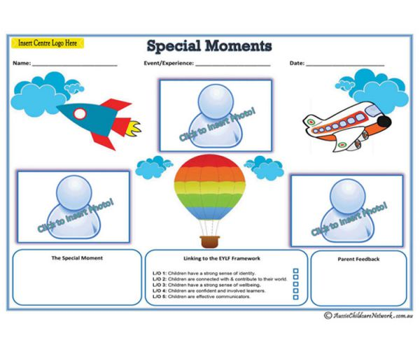 Special Moments - Blue
