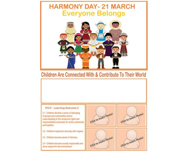 Harmony Day - Everyone Belongs
