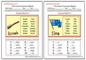 Two Letter Blends