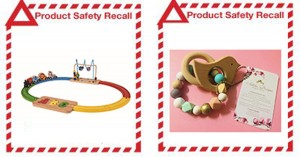 Product Safety Recall - ALDI Train Set and Sabiha Teething Products