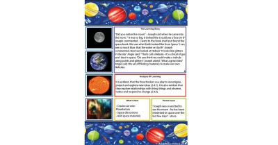 Space Learning Story Template