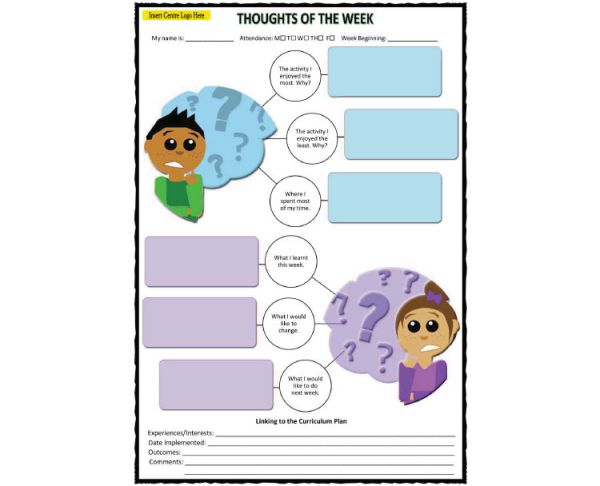 Thoughts of the Week - Child Input
