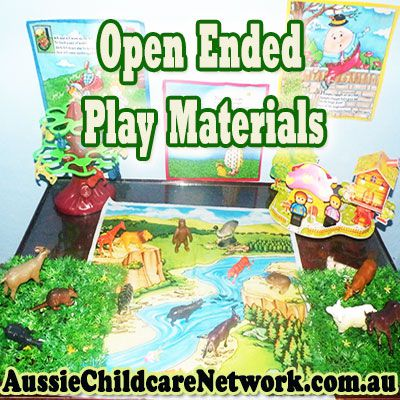 Using Open Ended Materials With Children
