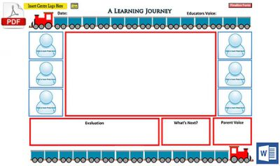 Learning Journey - New Learning Story Template Released