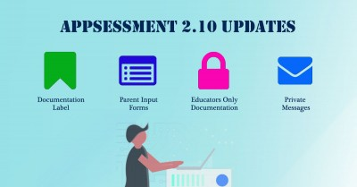 Appsessment 2.10 - Documentation Label, Parent Input Forms, Educator Updates, Private Messages