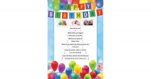 Birthday Interview Portfolio Template